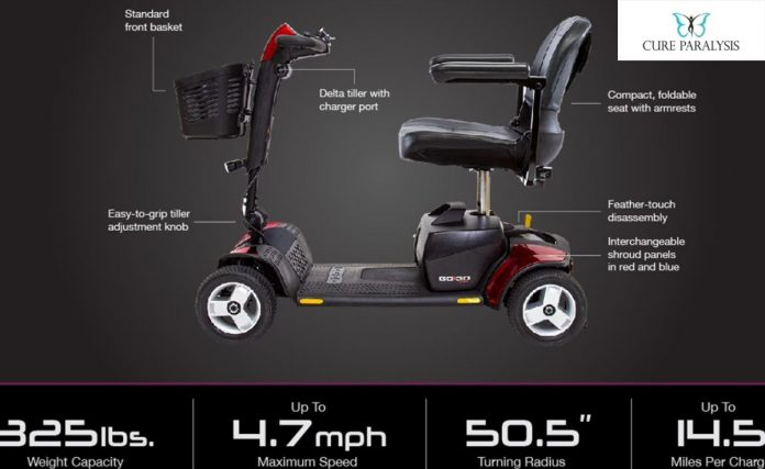 pride gogo mobility scooter